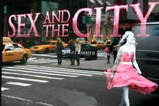 SEX AND THE CITY 2 Movie POSTER 27x40 C Sarah Jessica Parker Kim Cattrall