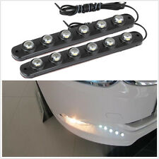 6 LED Angel Tears Hawkeye Fog Light DRL Waterproof 2 X FLEXIBLE Soft Lamp Strip