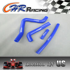 silicone radiator hose for Kawasaki KX125 KX 125 99-02 1999 2000 2001 2002 blue