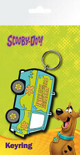SCOOBY DOO THE MYSTERY MACHINE RUBBER KEYRING NEW OFFICIAL MERCHANDISE