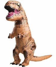 Adult Inflatable Dinosaur T-Rex Fancy Dress Costume Halloween Costume