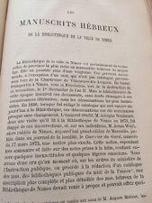 Catalogue D'actes Relatifs Aux Juifs Pendant Le Moyen Âge 1880
