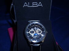 Alba Moon Phase Quartz Watch