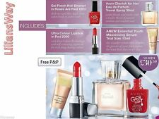 Avon Beauty Bundle~4 ITEMS~Nail Polish/Lipstick/Perfume/Anew Youth Serum~JOBLOT