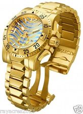 Invicta Rainbow Dial Gold Plated Bracelet 15976