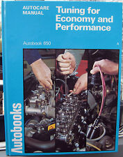 CLASSIC CAR TUNING FOR ECONOMY & PERFORMANCE~AUTOBOOK WORKSHOP MANUAL 1979