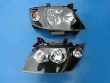 JDM Mazda MPV LW3W 2nd GEN 00-03 HID Headlight Lamps Lights BLACK 1 Pair LH & RH