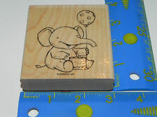 Stampin Up Single Stamp Elebration Stamp Set of 1 Elephant Balloon Celebrate