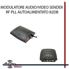 MODULATORE RF AUDIO VIDEO PLL AUTOALIMENTATO 82DB RCA COAX COASSIALE SAT DTT TV