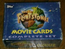 THE FLINTSTONES TOPPS MOVIE CARDS FACTORY SET !!