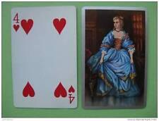 carte à jouer ancienne de collection (USA) : contesse