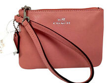 COACH  Wristlet Wallet Purse Pocketbook Small Crossgrain Leathet NWT 52850