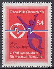 Österreich Austria 1983 ** Mi.1738  Herz Heart Medizin Medicine Pacemaker