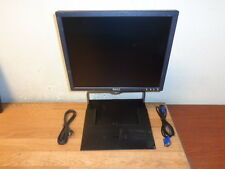 "DELL E176FPC 17"" WideScreen LCD Monitor Black w/GG217 Stands /VGA Cable WORKING"