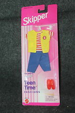 "VINTAGE BARBIE SKIPPER TEEN TIME FASHION MINT IN PACKAGE 12"" X 4 1/2"""