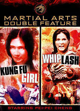 Martial Arts Double Feature - (Kung Fu Girl / Whiplash) DVD [V13]