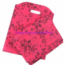 10pcs/lot 25X33cm Pink Recycled Non Woven Reusable Shopping Bags Gift Bag