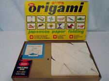 Vintage 50s JAYMAR Board Games Origami Japanese Paper Folding VERY RARE #942