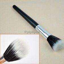 Foundation Stipple Powder Blush Brush New Black Makeup Cosmetic Fiber Fashion