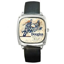DOUGLAS CYCLES 1924 REPRO POSTER WRISTWATCH **SUPER GIFT ITEM ***