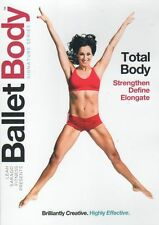 BALLET BODY SIGNATURE SERIES DVD TOTAL BODY BARRE WORKOUT EXERCISE LEAH SARAGO