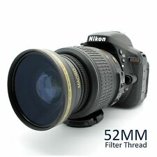 NEW .43x Wide Angle Macro Lens for Nikon SLR D3300 D3200 D3100 D5300 D5200 D5100