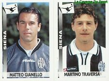 578 GIANELLO TRAVERSA ITALIA AC.SIENA STICKER CALCIATORI 2001 PANINI