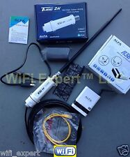 ALFA PoE TUBE 2H + R36 + 9dBi Outdoor Antenna Long Range Booster GET INTERNET