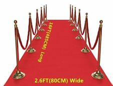 Red Carpet Runner Party Wedding Birthday Floor Decor Scene Setter Prop 16ft/5m