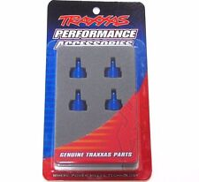 3767A Traxxas Shock Caps Aluminium Blue (4pcs) Fits All Ultra Shocks New UK