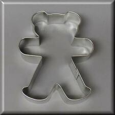 "4"" TEDDY BEAR METAL COOKIE CUTTER SHOWER BIRTH CHRISTMAS #NC1005"