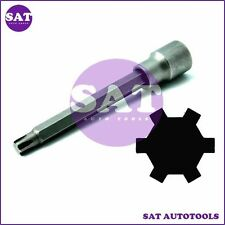 "VW AUDI 1/2""Dr x M10 Cylinder Head Bolt Ribe/Polydrive Engine 140mm Long"