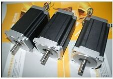 【DE ship】CNC 3PCS NEMA34 Stepper Motor 1600 OZ-IN,151mm,4leads,11.2NM Single