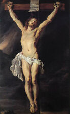 Stunning Oil painting Peter Paul Rubens - The Crucified Christ Jesus canvas