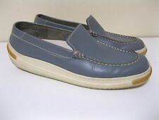 HOGAN by TOD'S Women's Blue / Gray Loafers Flats Shoes Size 8.5 EUC