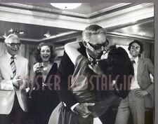 VINTAGE PHOTO 1978 Anthony Quinn, Jacqueline Bisset The Greek Tycoon