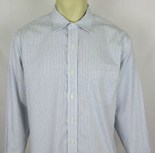 Mens Brooks Brothers 346 Non Iron dress shirt button front – Size 16.5  2 / 3