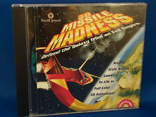 3D MISSILE MADNESS Computer video PC game Arcade type Windows SWIFT JEWEL 1990'S