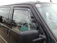 Dubflecta SLEEK wind deflectors for VW Transporter T4 1992 - 2003 Volkswagen