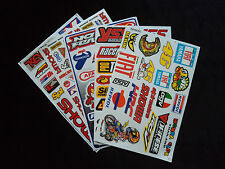 Wholesale 5 Sheets Motor Sport Decals - Stickers Motorcycle Motocross Bike Quad