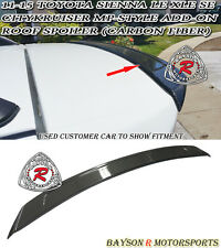 11-17 Toyota Sienna CityKruiser MP-Style Add-on Roof Spoiler Wing (Carbon Fiber)