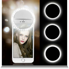Portable selfie 36 led ring flash fill light clip caméra pour iphone samsung htc
