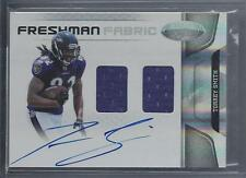 TORREY SMITH 2011 CERTIFIED FRESHMAN FABRIC DUAL JERSEY ON CARD AUTO RC #D /499