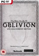 The Elder Scrolls IV 4 Oblivion 5th Anniversary Edition  PC Brand New Sealed