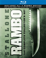 Rambo: The Complete Collector's Set [4 (2010, Blu-ray NEUF) BLU-RAY/WS4 DISC SET