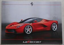 Ferrari LaFerrari presentation Card Carte 2013 No Brochure prospectus book press
