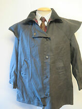 "Barbour A1305 Backhouse Town & Country Waxed jacket - 36"" UK 12  in blue"
