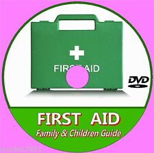BASIC FIRST AID GUIDE FOR BABIES, KIDS, FAMILIES LEARNING AID VIDEO DVD NEW