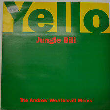 "YELLO - JUNGLE BILL - THE ANDREW WEATHERALL MIXES 12"" MAXI (W532)"