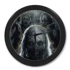 Home Decor Unique The Walking Dead Digital Round Quartz Wall Clock 9.65 Inch